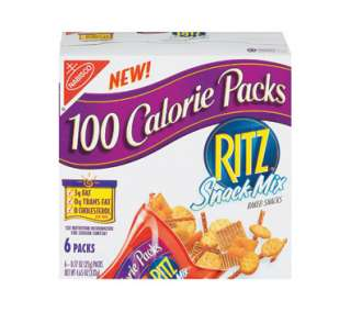 Nabisco 100 Calorie Packs, Ritz