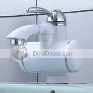 The Hot Cold Faucet r equires only cold water supply line to provide