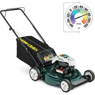 Yard Man 21 Mulch/Rear Bag Push Lawn Mower and Springfield Big and