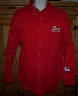 Mens WINNERS CIRCLE Bud Racing Dale Jr Shirt Size XXL