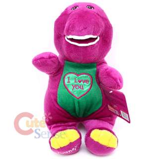 Plush Doll by Fisher  Price 12 Barney Dinosaur Large Stuffed Toy