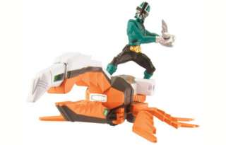 Power Rangers Samurai Zord Vehicle Set Green  Power Rangers Samurai