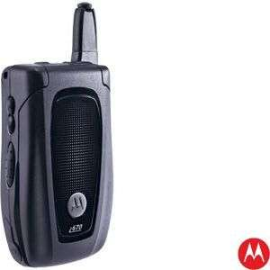 Motorola i670 iDEN Sprint/Nextel/Boost Mobile Phone, Black (Factory