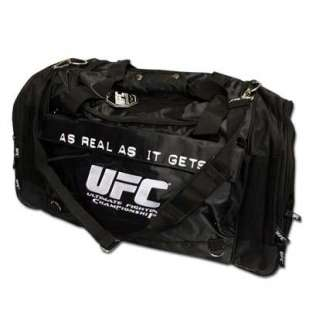UFC Logo Large Black Nylon Duffel Bag for only £ 35.87 at