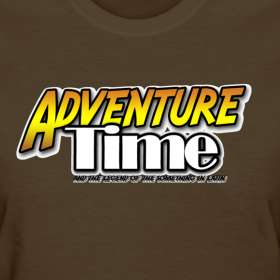 Design ~ Adventure Time Logo T Shirt