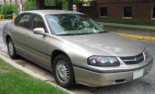 Chevy Impala Front & Rear Brake Pads 2000 2001 2003