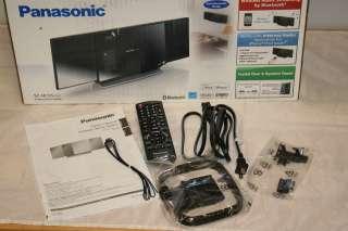 Panasonic SC HC55 CD iPod Dock Compact Stereo System