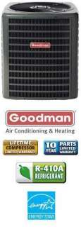 Ton 13 Seer Goodman Heat Pump   GSZ130481