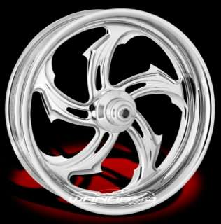 CHROME PERFORMANCE MACHINE RIVAL FRONT WHEEL & TIRE FOR HARLEY FAT BOY