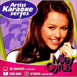 Artist Karaoke Series Miley Cyrus, Karaoke Wal Mart CD