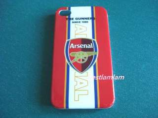 Football Club Arsenal Hard case back Cover for iphone 4 4S 4G