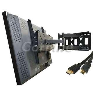 Dual Arm Plasma LCD LED TV Articulating Tilt Wall Mount for Sharp