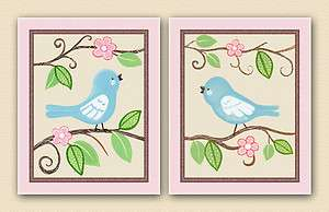 Prints. Baby/Girl/Childrens Nursery Wall Art/Decor/bedding coordinant