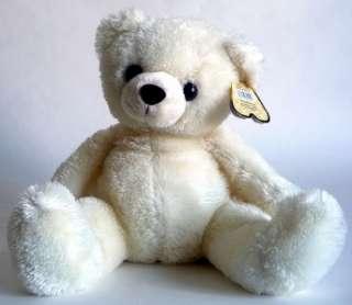 17 Aurora Plush Off White Teddy Bear Stuffed Animal Toy 30959 NEW