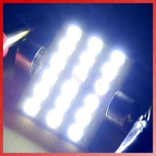 41mm Festoon Dome 18 SMD LED Car Interior Bulb Light Lamp White