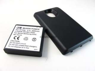 MUGEN POWER 3600mAh EXTENDED BATTERY SAMSUNG GALAXY S II EPIC TOUCH 4G