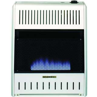Dual Fuel Vent Free Blue Flame Heater with Blower & Base NG LP