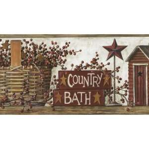 Country themed wallpaper borders on popscreen - Country wallpaper borders for bathrooms ...