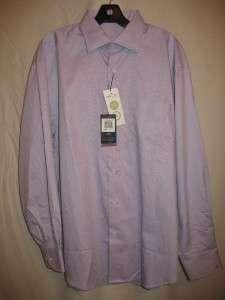 New Callaway Nano Tex Woven Dress Shirt Purple Mens L