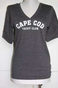 nwot OLD NAVY grey CAPE COD YACHT CLUB T shirt M