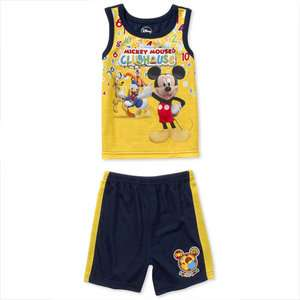Disney   Infant Boys Mickey Mouse Clubhouse 2 Piece