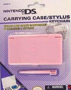Nintendo Keychain *DS LITE GAME CASE* W/ Stylus  PINK