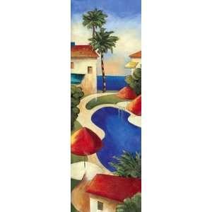 Coastal Breeze I artist Elli Milan 12x36