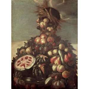 Giuseppe Arcimboldo   24 x 32 inches   Summer 4