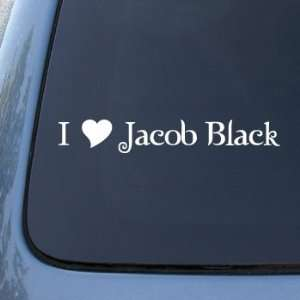 HEART JACOB BLACK   Twilight Vinyl Decal Sticker 1611  Vinyl Color