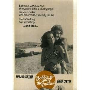 the Outlaw Vintage 1976 Pressbook with Marjoe Gortner, Lynda Carter