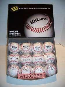 Wilson A1082BBR1 Babe Ruh Regular Season Play baseballs