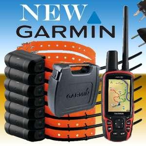 BRAND NEW. COMBO GARMIN ASTRO 320 GPS + 7 x DOG TRACKING COLLARS DC40
