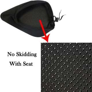Black Bike Bicycle Soft Gel Saddle Seat Cover Cushion