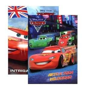 DISNEY CARS 2 Libro Para Colorear Y Actividades, Case Pack