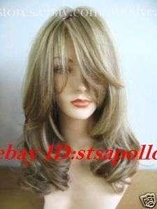 2011 New Stylish High quality Medium wavy hair womans Health wig/wigs