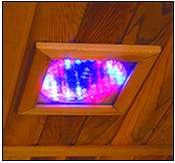Hemlock 3 Person Carbon Heater Corner Infrared Sauna