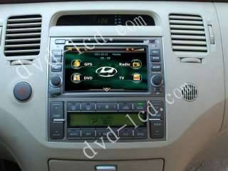 Hyundai Azera car dvd player Radio GPS Bluetooth IPod