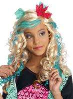 Lagoona Blue CHILD Costume Wig NEW Monster High