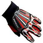 NEW Motorcycle Motocross MX ATV Dirt Bike Racing Textile Gloves Red XS