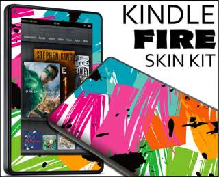 Kindle Fire Skin Vinyl Decal eBook Netbook Tablet #085