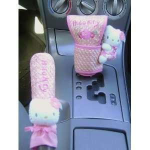 Super Cute Hello Kitty Auto Gear Cover Set Automotive