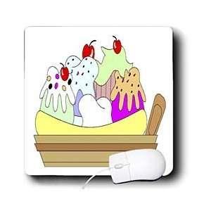 Décor II   Banana Spilt Ice Cream Dish   Mouse Pads Electronics