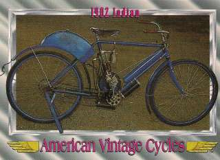Vintage Cycles 1902 Indian Motorcycle Engine Single Cylinder 15 cu. in