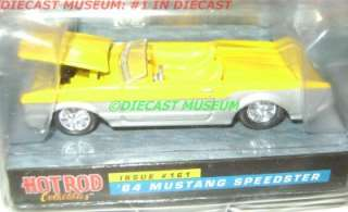1964 64 FORD MUSTANG SPEEDSTER RC HOT ROD DIECAST RARE