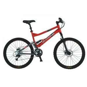 Schwinn best full suspension red mountain bike sale