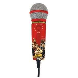 Karaoke MM208A Alvin and The Chipmunks Plug N Sing Handheld Karaoke
