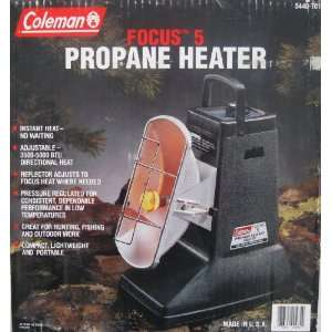 Coleman Propane Radiant Heater Model focus 5 Patio, Lawn