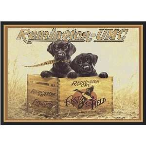 5920 Remington Arms Remington UMC Hunting Rug Furniture & Decor