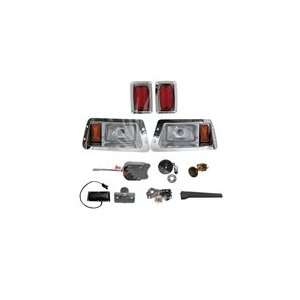 STANDARD Street Package Chrome Light Kit for Club Car DS