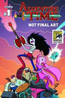 Comic Con SDCC Exclusive Adventure Time Marceline Queens #1 Comic Book